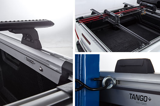 tango pickup truck roof racks mounting